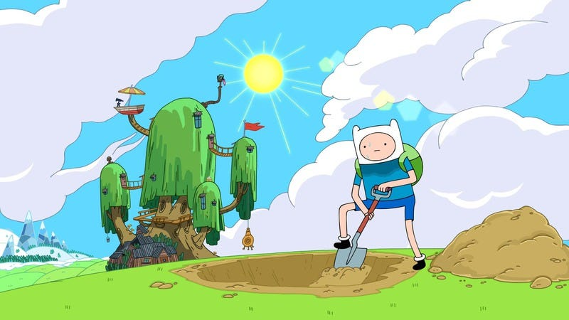 """Illustration for article titled Adventure Time: """"Graybles 1000+"""""""