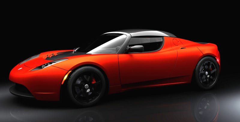 Illustration for article titled Tesla Roadster Sport: More Charge For More Change