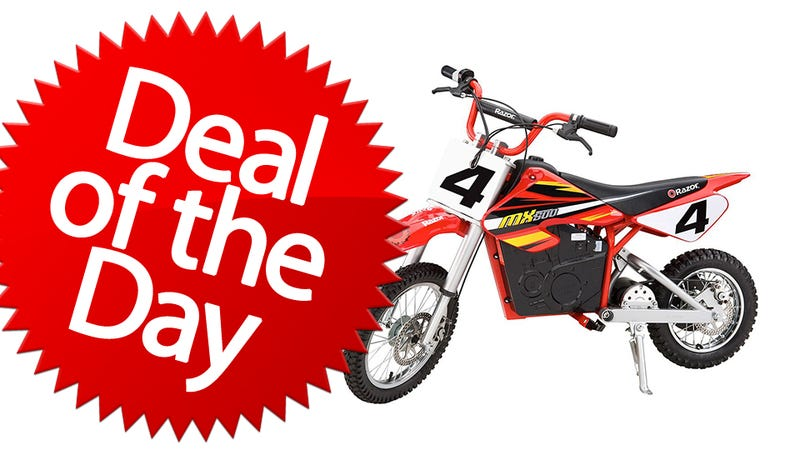 Illustration for article titled This Razor Dirt Rocket Bike Is Your Hog Wild Deal of the Day
