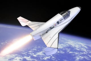 Illustration for article titled Meet The XCOR 'Lynx' – The Sportscar Of Spacecraft