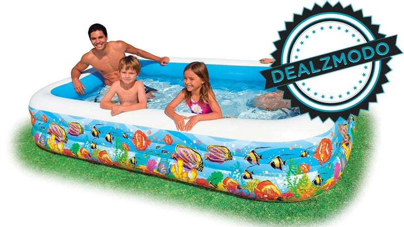 Illustration for article titled This 266-Gallon Kiddie Pool Is Your Deal of the Day