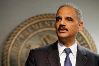 Attorney General Eric HolderChris Graythen/Getty Images
