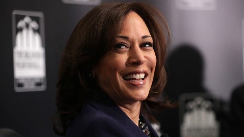 Illustration for article titled Did Kamala Harris get high while listening to Tupac and Snoop? Voters demand answers