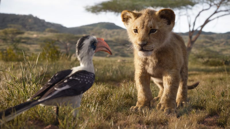 Illustration for article titled A legendary scene was removed from the Lion King remake, a film about talking animals, for not being real enough