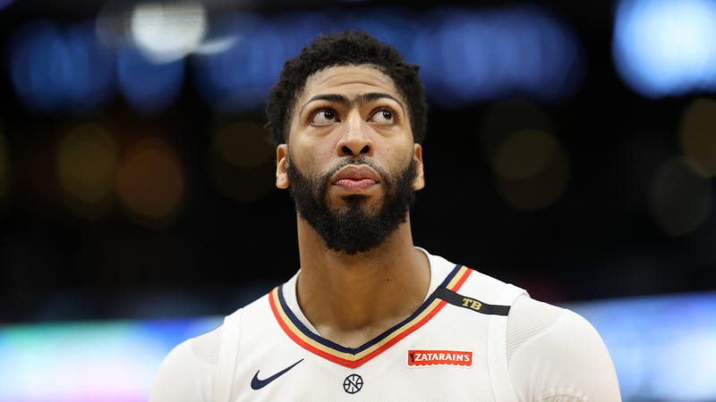 Illustration for article titled The Zombie Pelicans Will Cross Their Fingers And Allow Anthony Davis To Play Out The Season