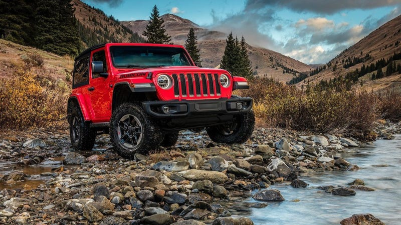 Photo: Jeep Not Pictured: 2018 Jeep Wrangler Fish Stompin' Edition