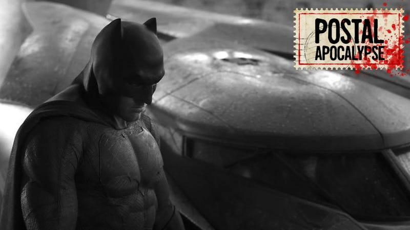 Affleck suddenly realized he'd made a terrible mistake.