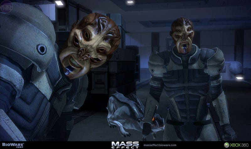 Illustration for article titled Mass Effect Live Play Blip