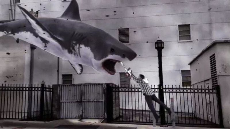 Illustration for article titled Labor strike halts production on Sharknado 3