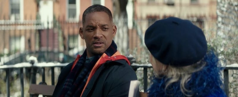 Illustration for article titled New Trailer for Collateral Beauty, That Movie That's Either a Sappy Fantasy or About a Dude Whose Friends Are Dicks