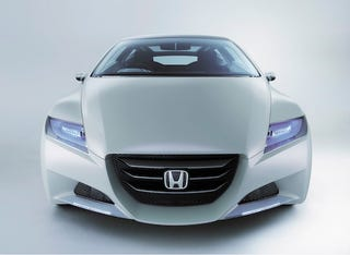 Illustration for article titled Detroit Auto Show: Honda to produce stand-alone small hybrid in 2009