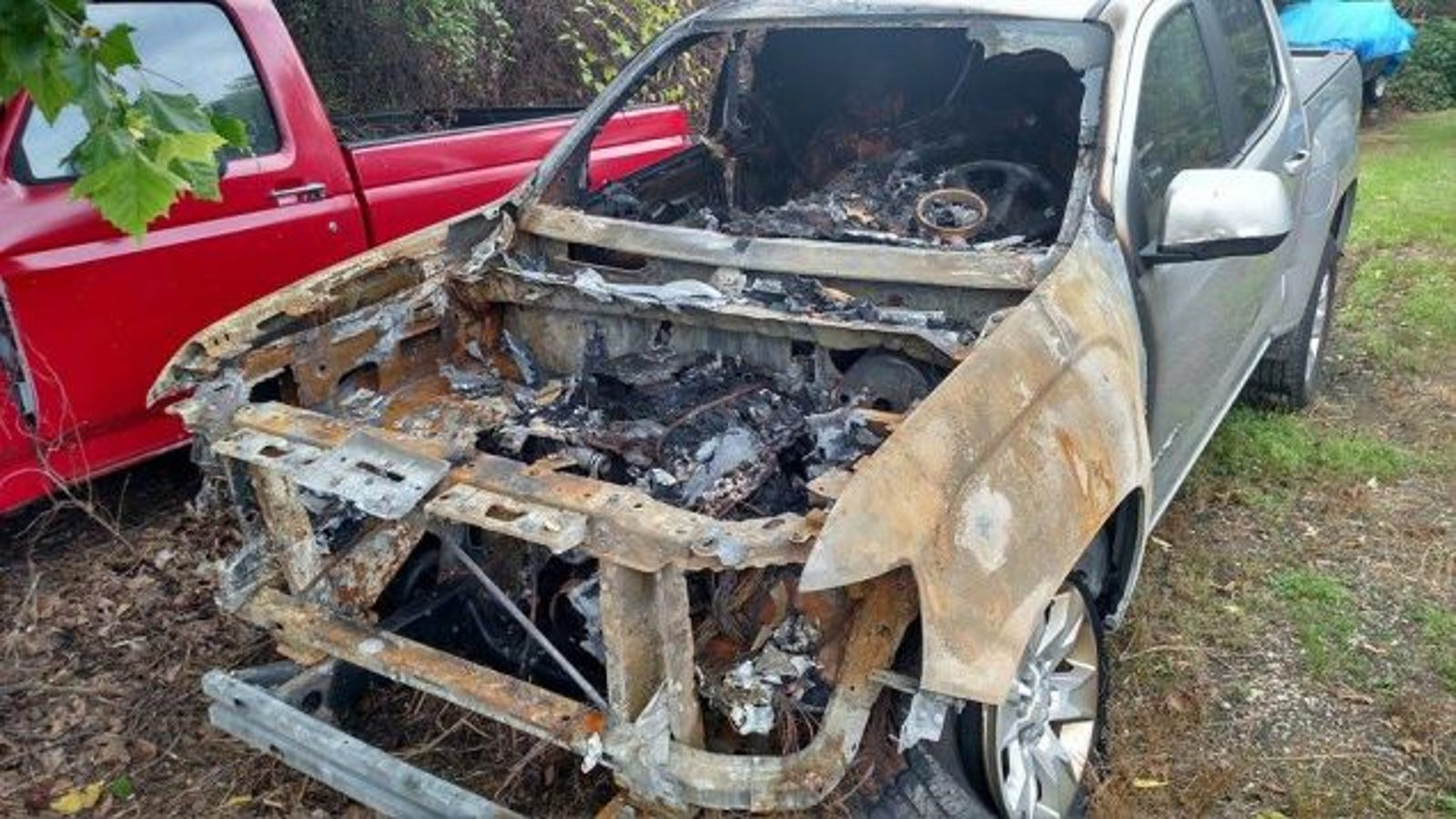 This Guy's 2015 GMC Canyon Caught Fire And He's Had No Luck With GM