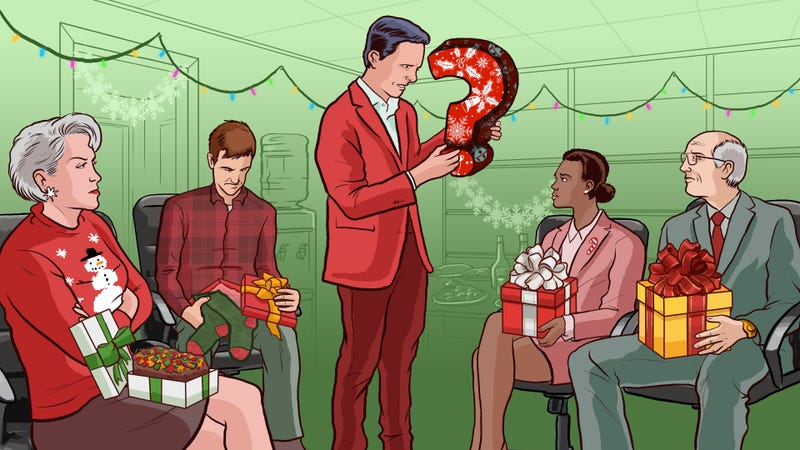 Illustration for article titled A Don't-Get-Fired Guide to Exchanging Gifts at Work