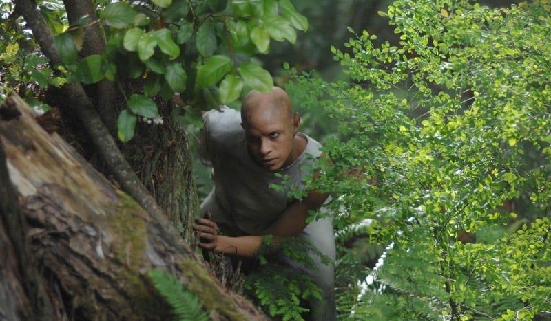 "Rochelle Okoye as ""abbie"" leader Margaret on Wayward Pines. ©2016 Fox Broadcasting Co. Cr: Sergei Bashlakov/FOX"