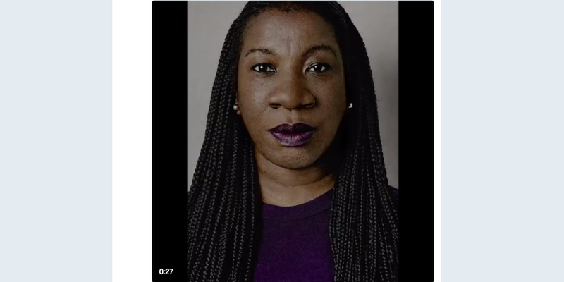 Social activist Tarana Burke (Time magazine Person of the Year video screenshot)