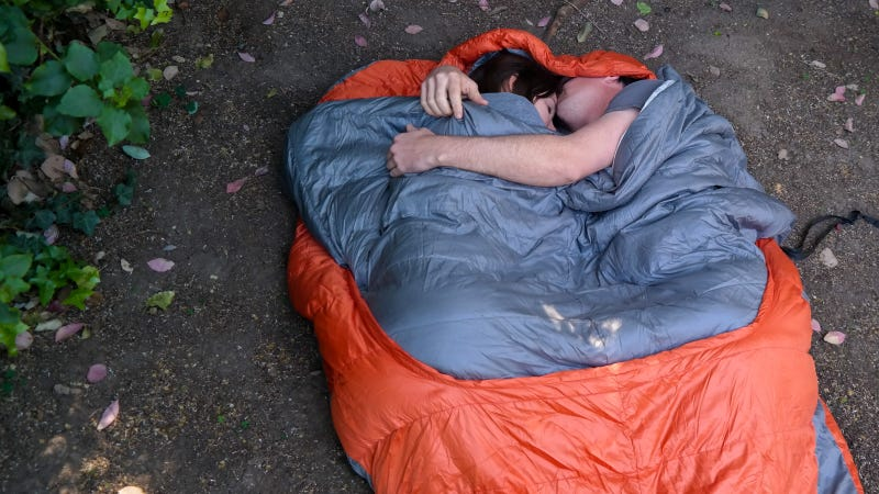 Sleeping bag sex