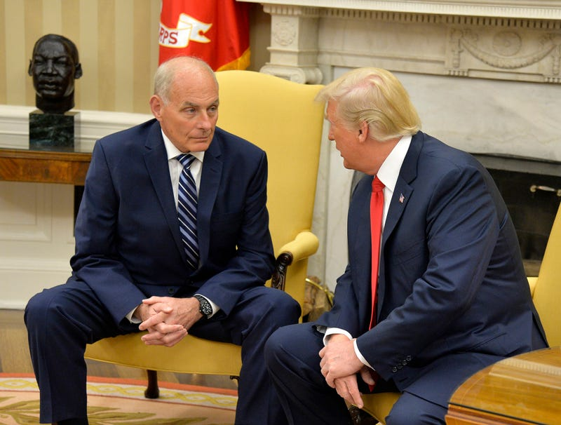 Illustration for article titled John Kelly Explains To Furious Trump That Gold Star Widow Cannot Be Demoted To Silver Star Widow