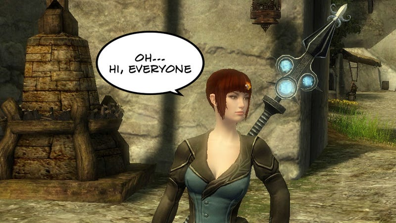 Illustration for article titled Guild Wars 2's Subtle Mind Control Makes Me Actually Like Other People
