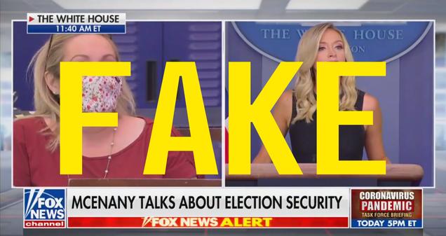 No, a Reporter Did Not Call the White House Press Secretary a  Lying Bitch