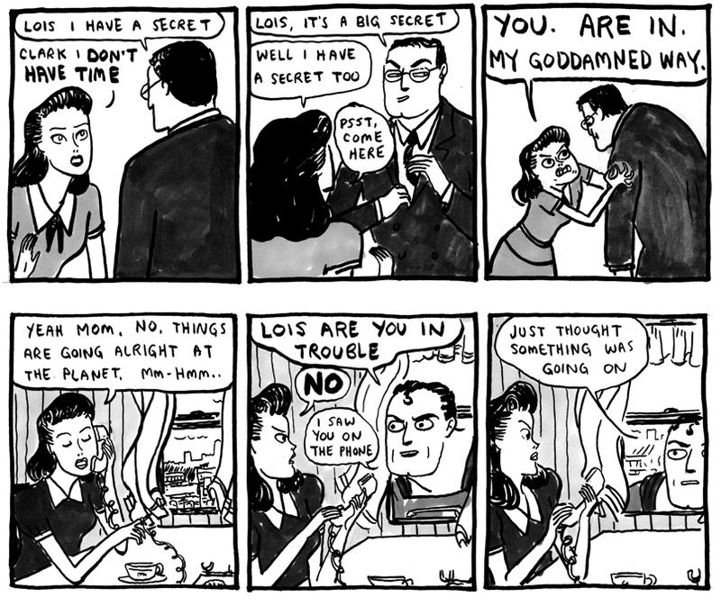 Illustration for article titled The Best Version of Lois Lane Doesn't Have Time for Superman's Bullshit