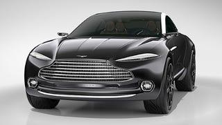 Illustration for article titled Aston Martin SUV. I repeat, Aston Martin SUV