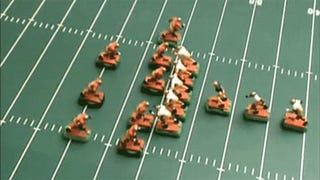 How To Win At Electric Football, Using Pliers And A Cigaret