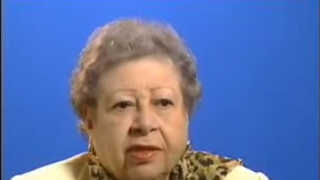 Former Kentucky state senator and civil rights leader Georgia Davis Powers discusses the 1964 civil rights march in Frankfort, Ky. She died Jan. 30 in Louisville, Ky.YouTube screenshot