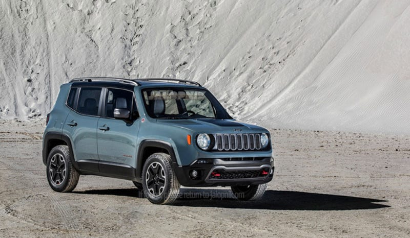 Illustration for article titled 2015 Jeep Renegade: This Is It