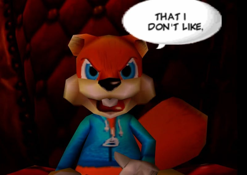 Illustration for article titled Conker's Bad Fur Day Is Irreverent Action At Its Best