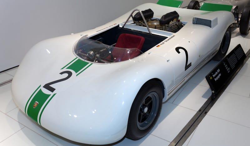 Illustration for article titled The Story Of Porsche's Plastic 909 Bergspyder