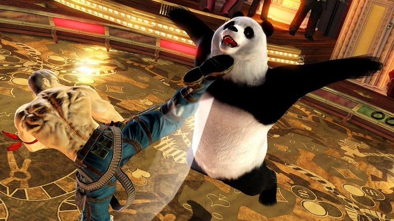 Illustration for article titled New Tekken 6 Screens Ride The Panda Express