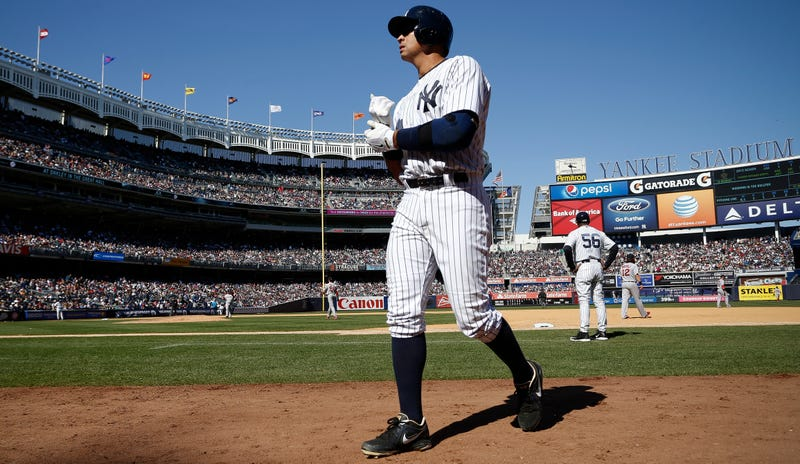 Illustration for article titled Yankees Still Pretending Alex Rodriguez's Milestone Isn't A Milestone