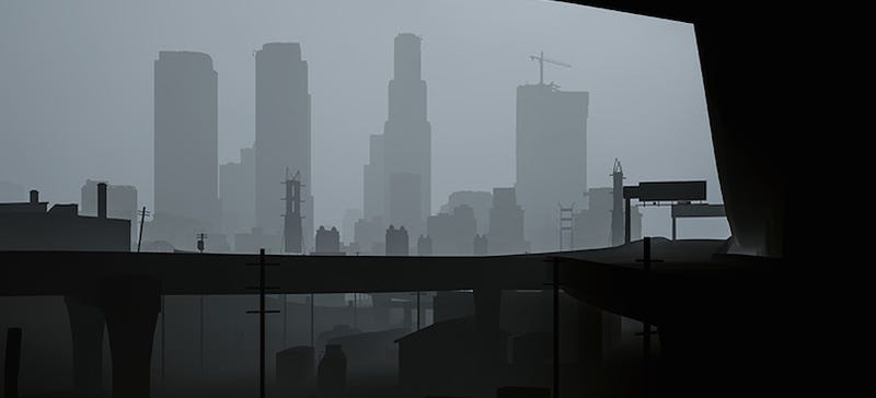 Illustration for article titled Grand Theft Auto V Looks Incredibly Creepy Without Textures