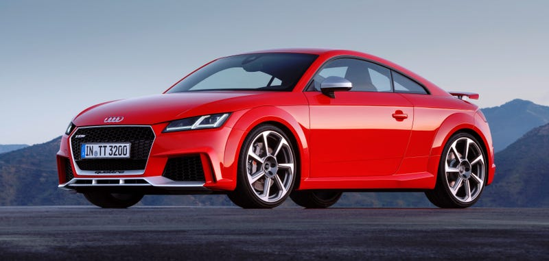 2017 Audi Tt Rs Five Cylinders Of Fury And 400 Horsepower