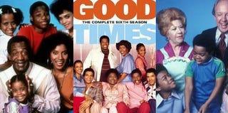 The Cosby Show (Gene Trindl/IMDb.com); Good Times (IMDb.com); Diff'rent Strokes (Herb Ball/IMDb.com)