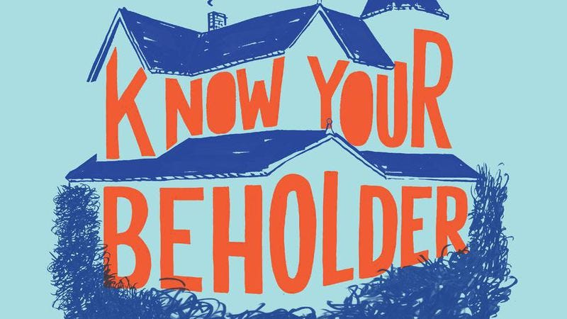 Illustration for article titled Adam Rapp's Know Your Beholder is two-thirds of a masterpiece