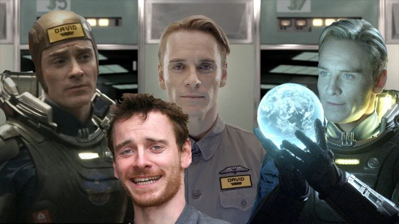 Illustration for article titled Prometheus sequel has new writer, multiple Michael Fassbenders