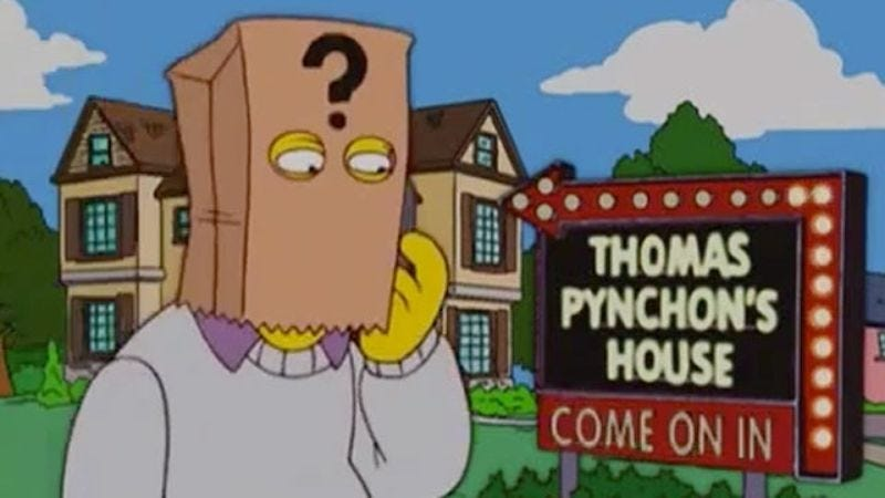 Illustration for article titled Thomas Pynchon edited his own Simpsons dialogue