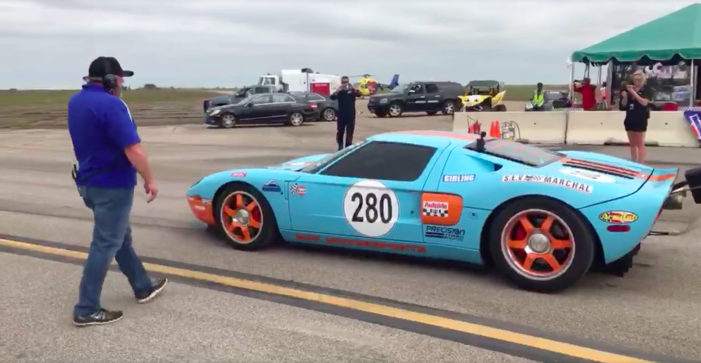 Photo Screengrab from M2K Motorsports Facebook. & The Old Ford GT Is Actually The Fastest Car In The World markmcfarlin.com