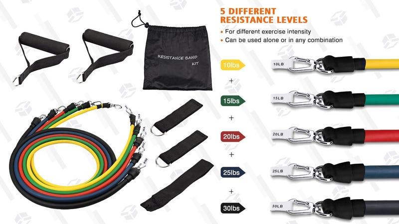 Mpow Resistance Bands | $12 | Amazon