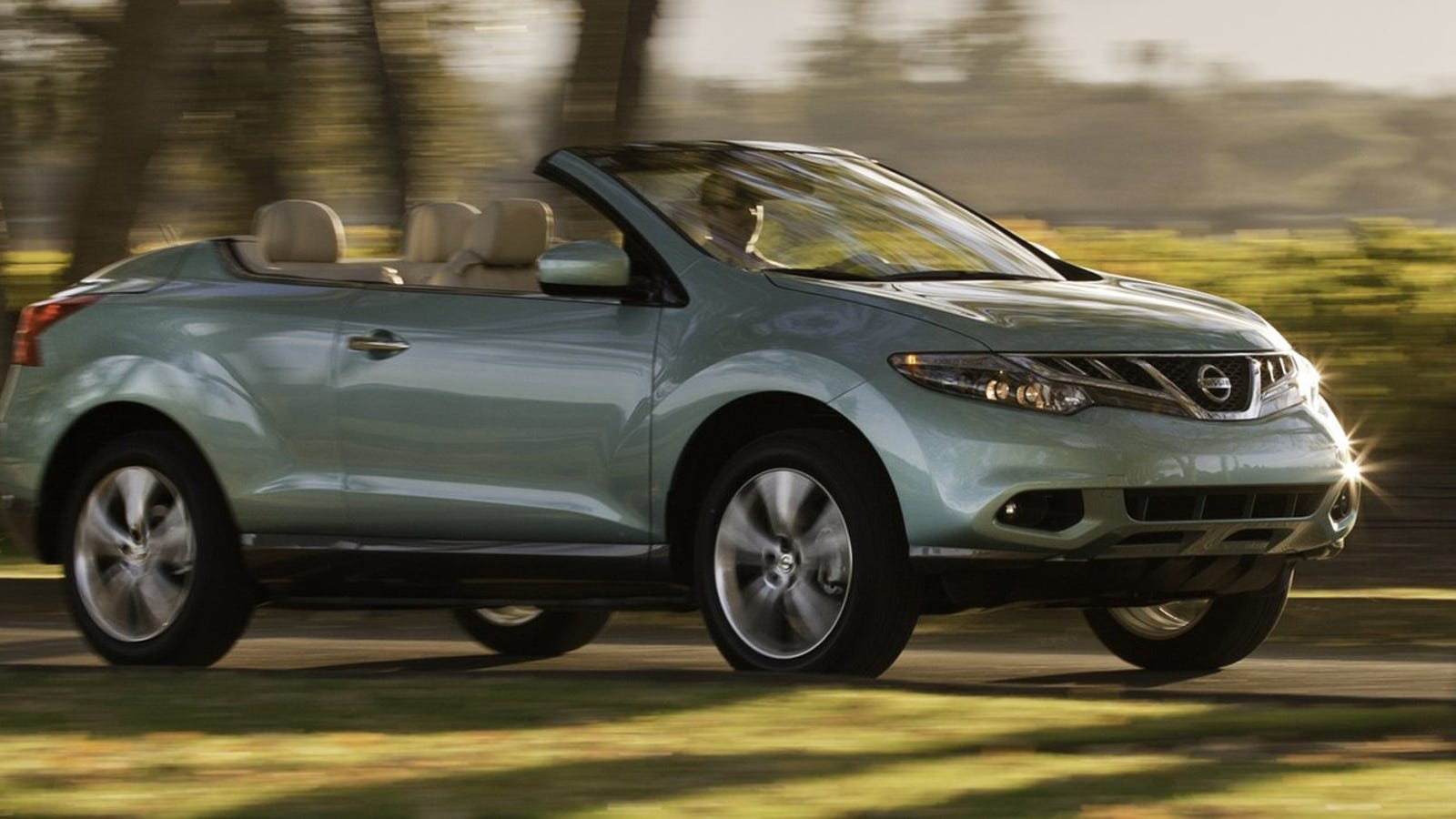you guys the nissan murano crosscabriolet is dead. Black Bedroom Furniture Sets. Home Design Ideas