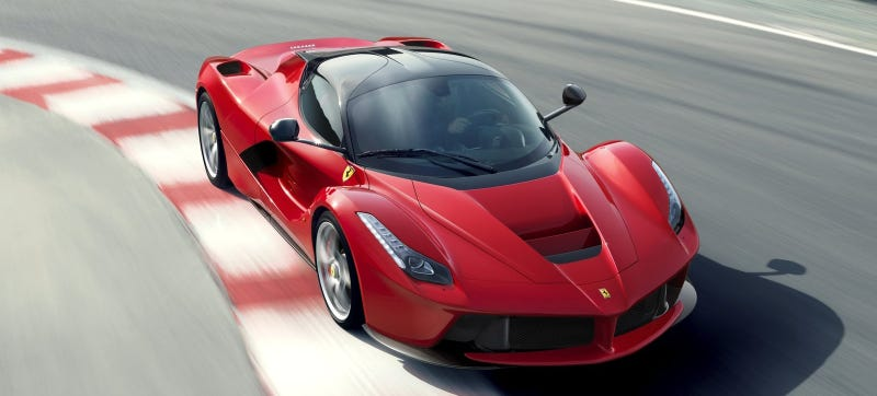 Illustration for article titled A LaFerrari Spider Could Be The Next Great Ultra-Expensive Convertible