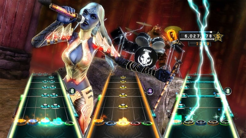 Illustration for article titled Review: Guitar Hero: Warriors of Rock