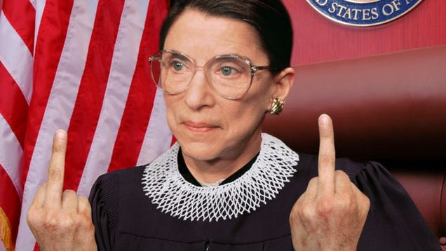 The Onion Looks Back At The Life And Legacy Of Ruth Bader Ginsburg