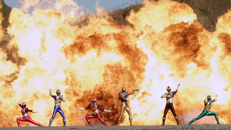 Illustration for article titled South Korea'sPower RangersSpinoffShow Is Going Above and Beyond