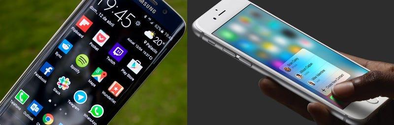 Illustration for article titled Android N dará soporte a pantallas sensibles a la presión, al estilo del 3D Touch de Apple