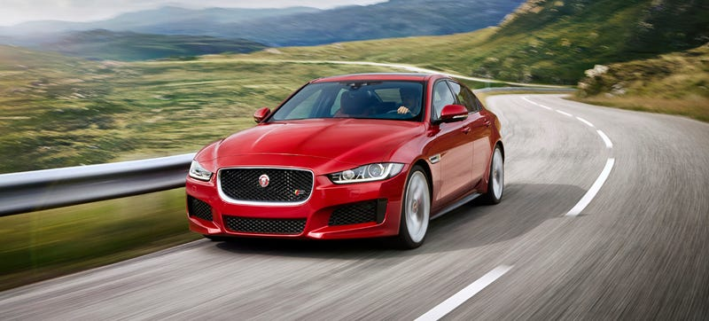 Illustration for article titled The 2016 Jaguar XE S Will Do 0-60 In 4.9 Seconds