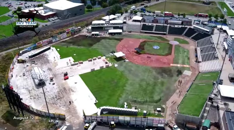 Minor League Stadium Ravaged By The Dreaded Mumford & Sons