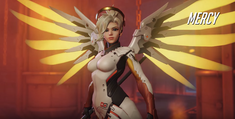 Illustration for article titled Overwatch's Mercy Problem