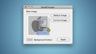 Illustration for article titled BootXChanger Customizes Your Mac OS X Boot Screen